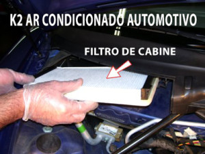 k2-filtro de cabine ar condicionado automotivo